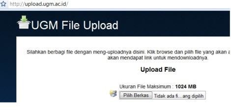 file sharing di ugm