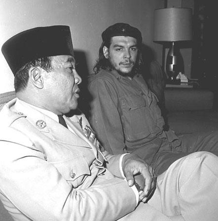 Soekarno dan Che Guevara